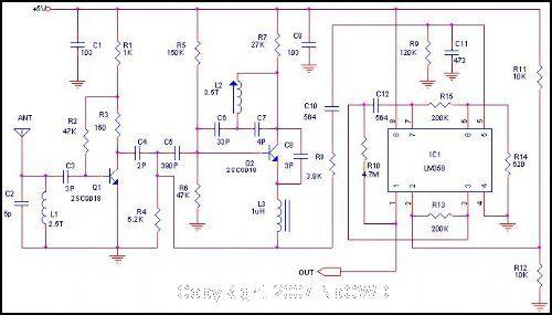 315mhz遥控发射电路设计
